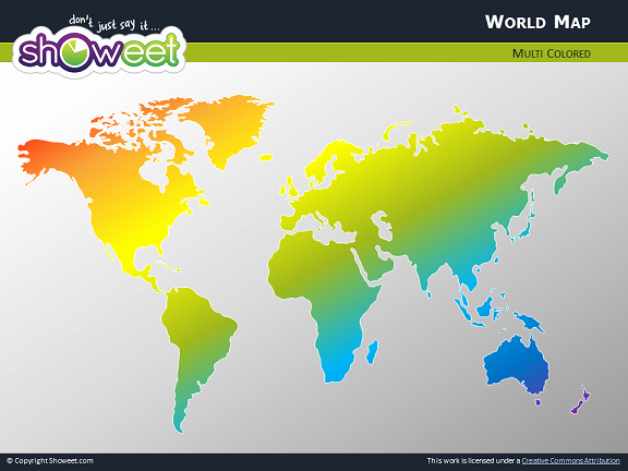Interactive World Map for Powerpoint Best Of Carte Du Monde Personnalisable Powerpoint