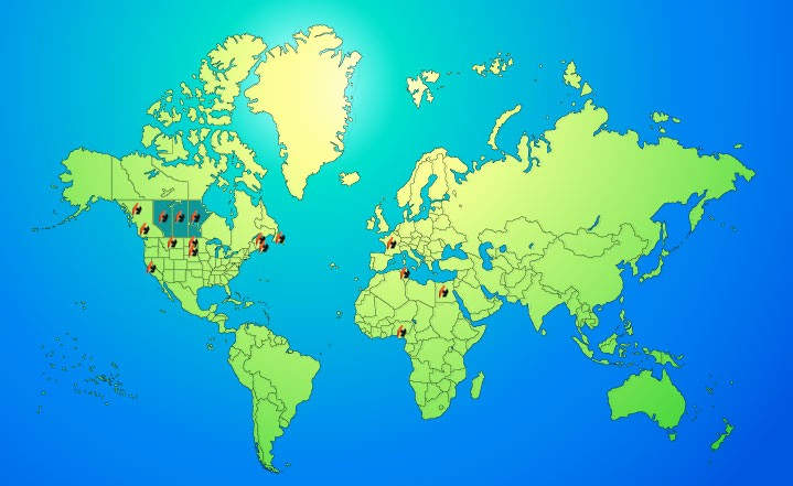 Interactive World Map for Powerpoint Fresh Interactive World Maps for Powerpoint Map