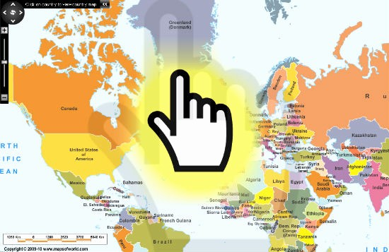 Interactive World Map for Powerpoint Fresh Interactive World Maps World Maps Map