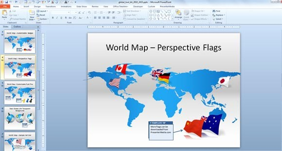 Interactive World Map for Powerpoint Lovely Free Interactive Maps for Powerpoint Best Templates with