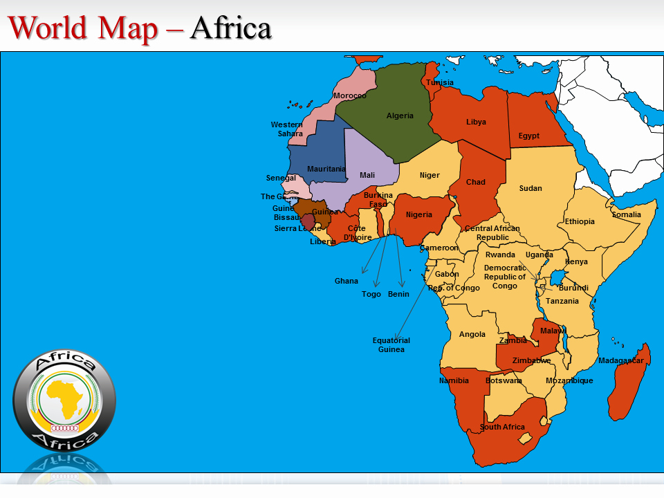 Interactive World Map for Powerpoint Lovely World Map Continents Ppt Map World Continents