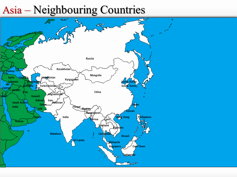 Interactive World Map for Powerpoint Luxury Powerpoint Map Of asia Interactive Map Of asia Ppt World