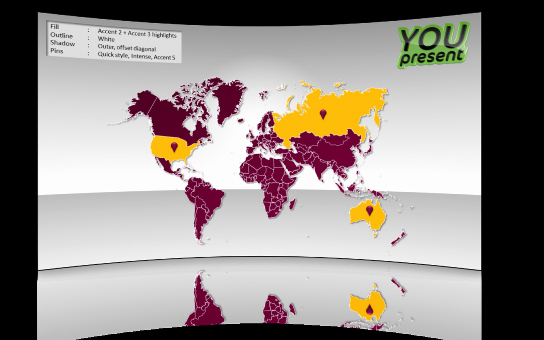 Interactive World Map for Powerpoint Luxury World Map Template for Powerpoint Youpresent