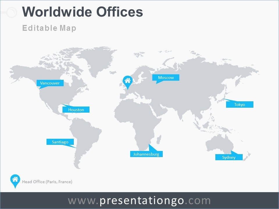 Interactive World Map for Powerpoint New Free Powerpoint Map Templates – Pontybistrogramercy
