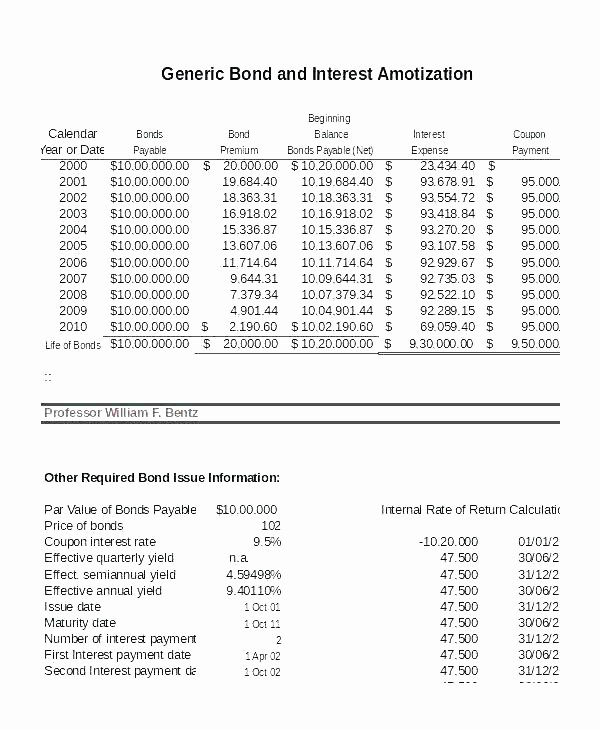 Interest Only Amortization Schedule Excel Best Of Interest Ly Loan Calculator Excel Printable Amortization