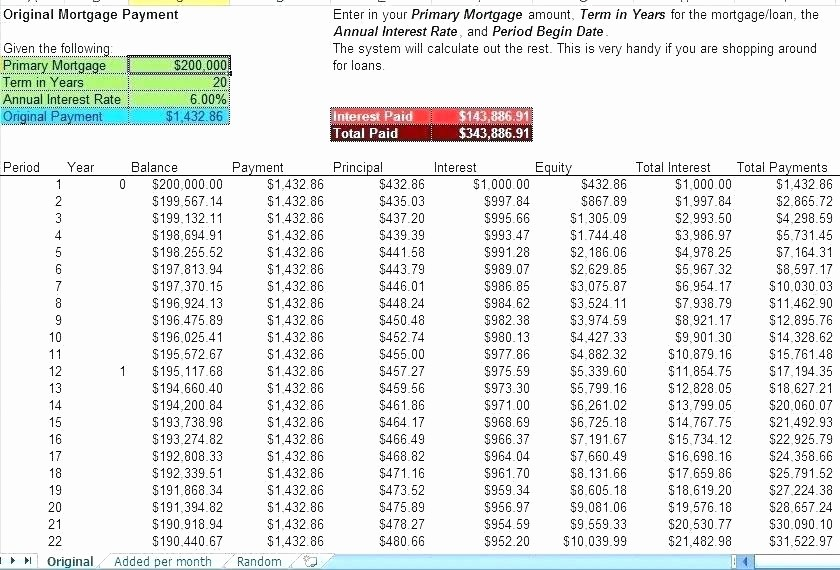 Interest Only Amortization Schedule Excel New Fancy Amortization Schedule Template Adornment Wordpress