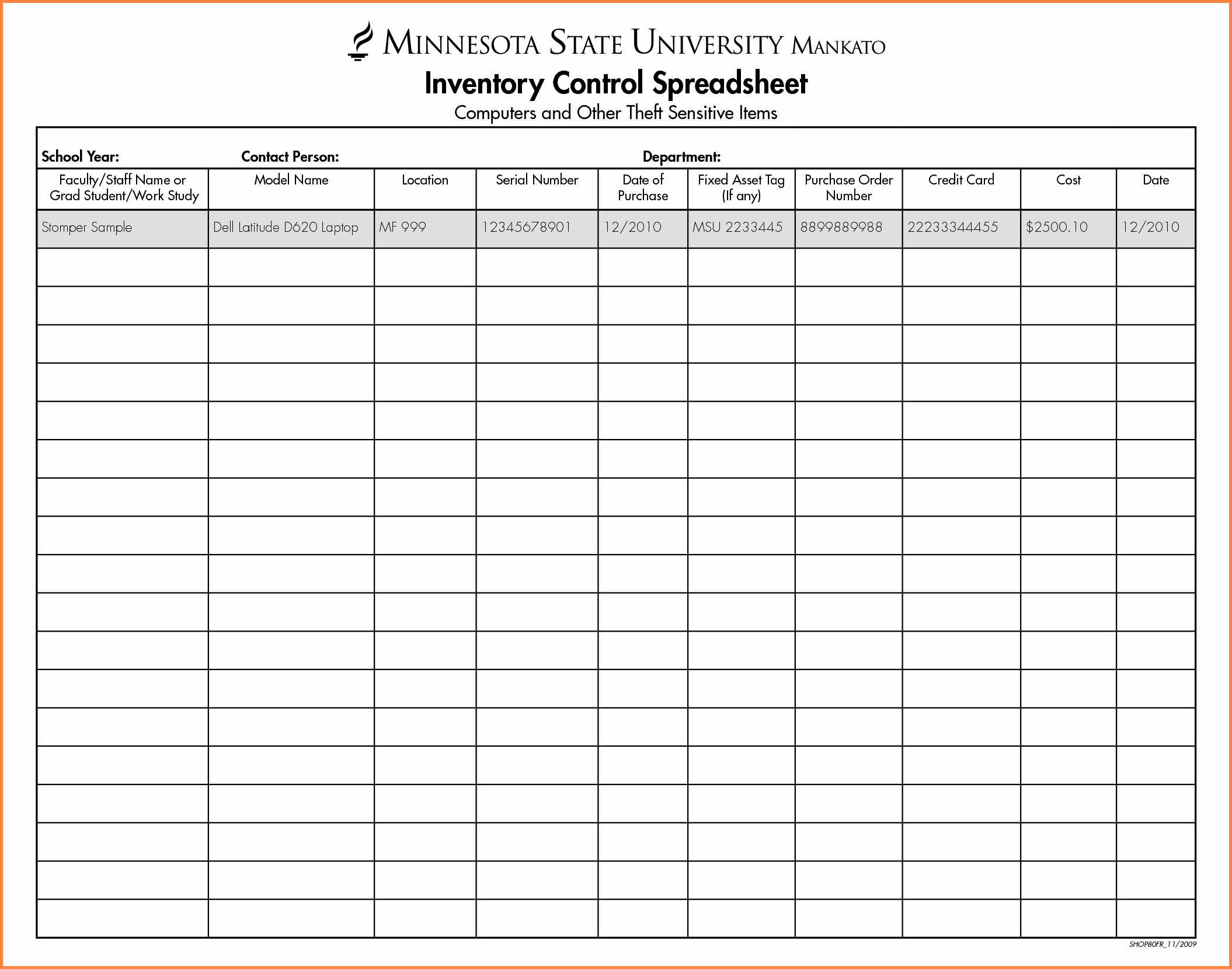 Inventory Control Spreadsheet Template Free Awesome 5 Spreadsheet Inventory Template