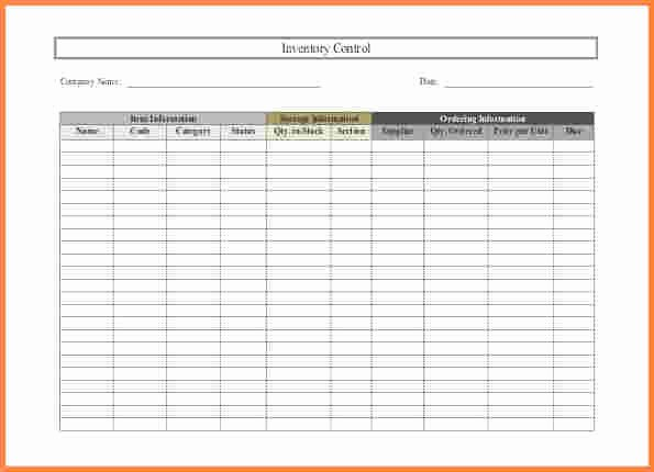 Inventory Control Spreadsheet Template Free Beautiful 3 Small Business Inventory Spreadsheet Template