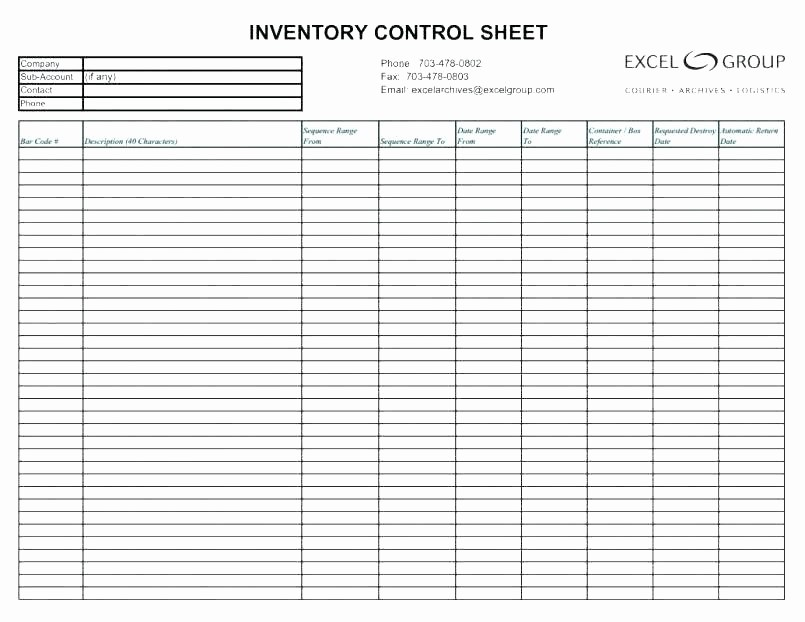Inventory Control Spreadsheet Template Free Best Of Free Inventory Management Spreadsheet Stock Control