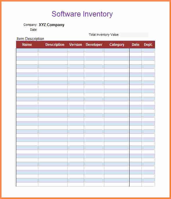 Inventory forms for Small Business Awesome 5 Inventory Spreadsheet Templates