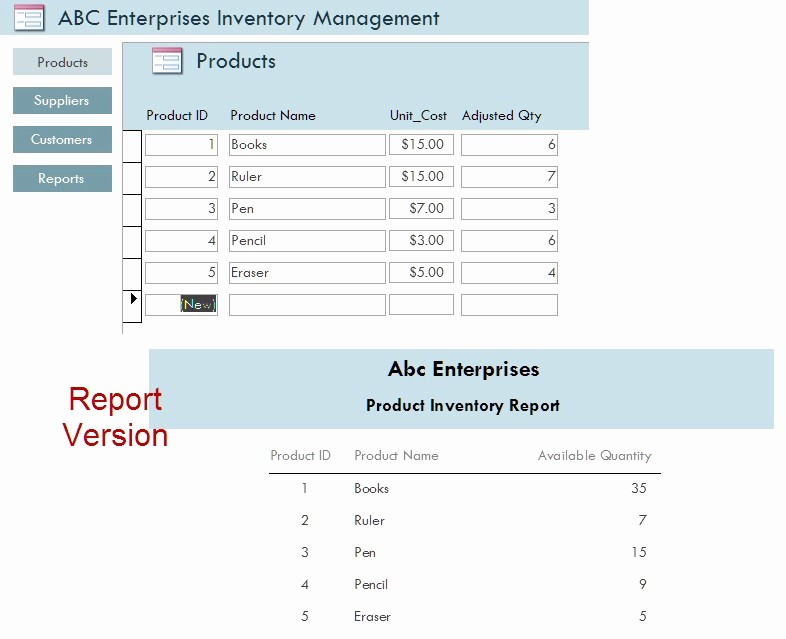 Inventory forms for Small Business Best Of Inventory Management System for Small Business In Access