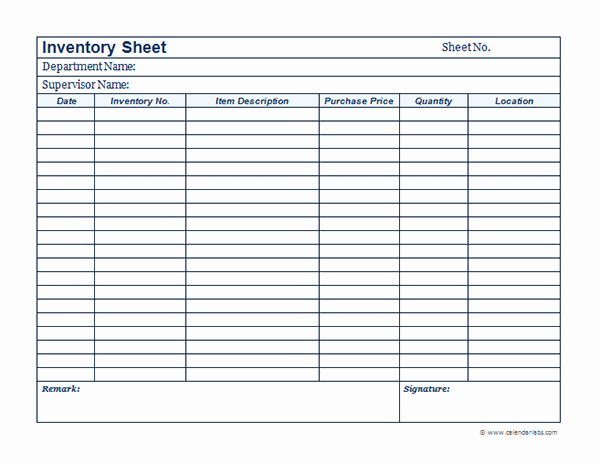 Inventory forms for Small Business Inspirational Business Inventory Template Free Printable Templates