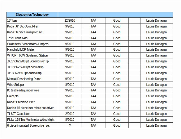 Inventory List Template Free Download New 16 Free Inventory Templates Pdf Word Excel Pages
