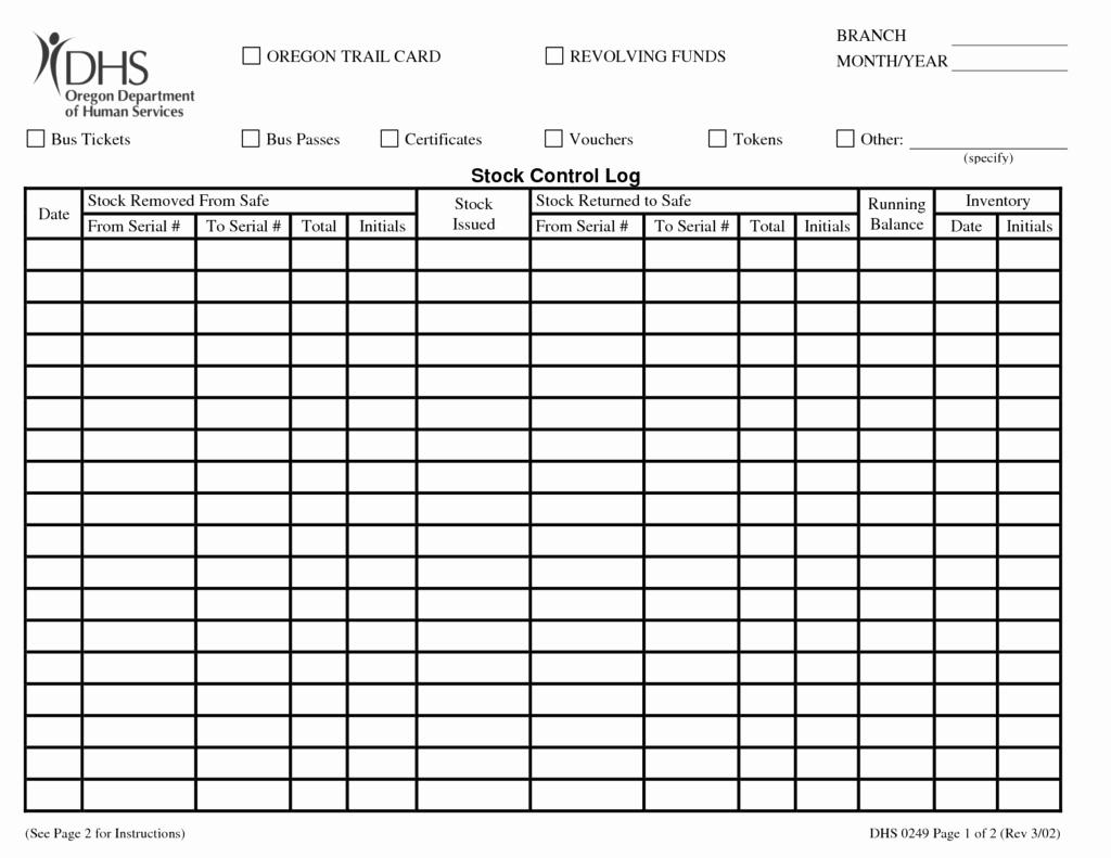 Inventory Log Sheet Excel Template Elegant 9 Stock Management Templates In Excel Excel Templates