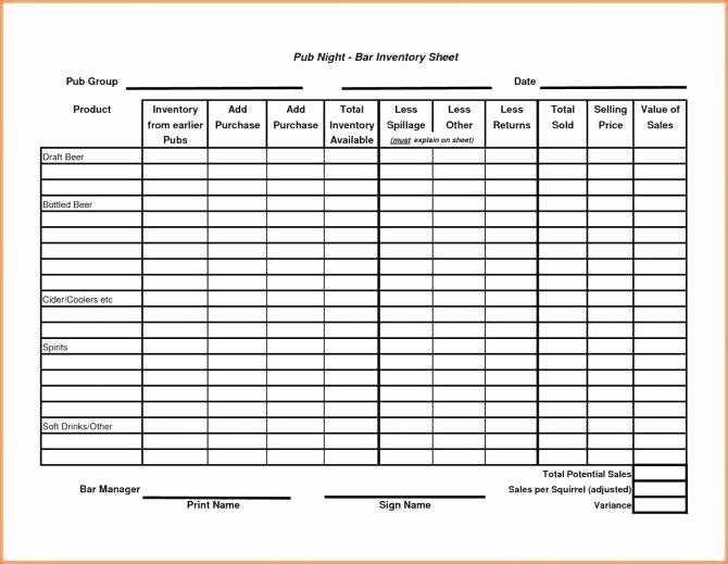 Inventory Sheets for Small Business Beautiful Sales Sheet Template Daily Excel Small Business Inventory