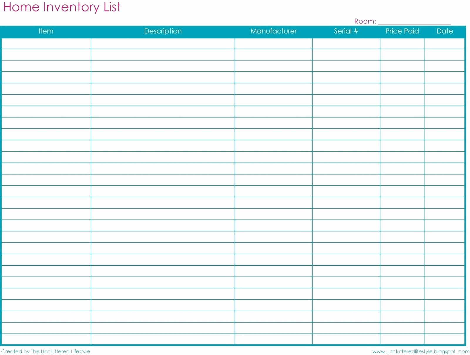 Inventory Sheets for Small Business Beautiful Template Inventory Log Sheet Template