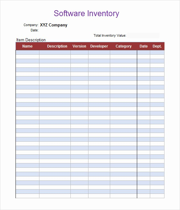 Inventory Sheets for Small Business Elegant 9 Inventory Spreadsheet Templates