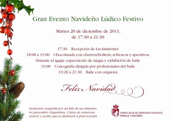 Invitacion Para Fiesta De Navidad Best Of Grupo Agd Navidad En Coslada