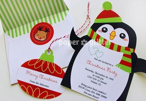 Invitacion Para Fiesta De Navidad Best Of Ideas Imprimibles Para Decorar E Invitar En Navidad