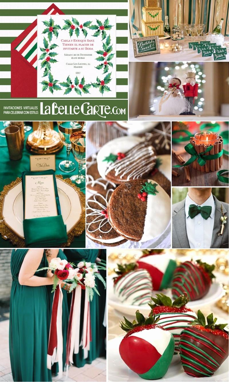 Invitacion Para Fiesta De Navidad Best Of Invitaciones De Boda E Ideas Para Decorar Una Boda Verde