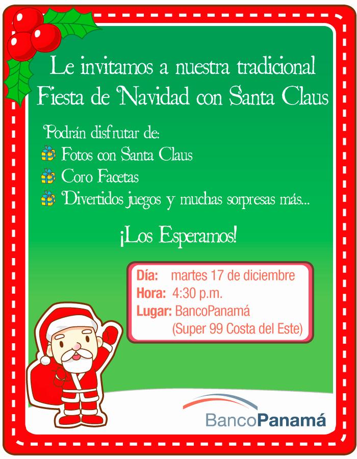 Invitacion Para Fiesta De Navidad Fresh Fiesta De Navidad Costa Del Este