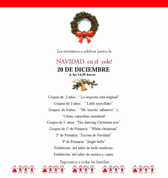 Invitacion Para Fiesta De Navidad Lovely Fiesta De Navidad