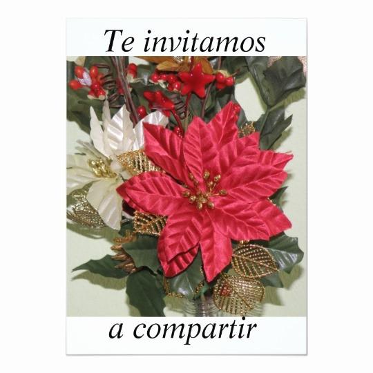 Invitacion Para Fiesta De Navidad Lovely Invitacion Fiesta De Navidad Invitation