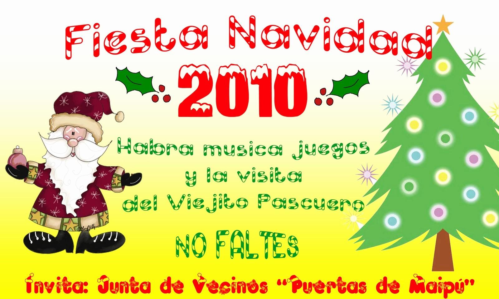 Invitacion Para Fiesta De Navidad Lovely isión Cultura Y Recreación Invitación Fiesta Navideña 2010