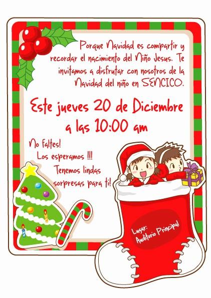 Invitacion Para Fiesta De Navidad Lovely Navidad Y Año Nuevo On Behance