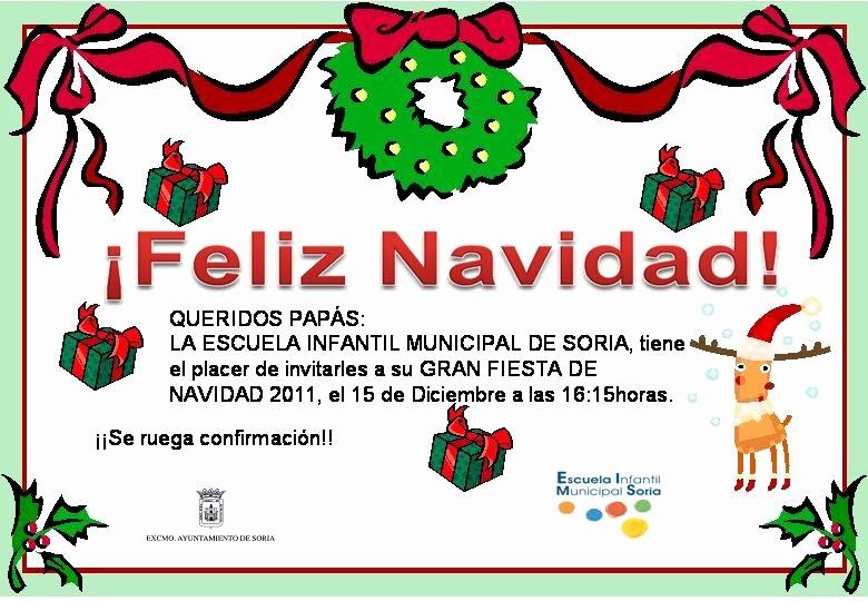 Invitacion Para Fiesta De Navidad Lovely Tablón De Anuncios Invitacion Para La Fiesta De Navidad 2011