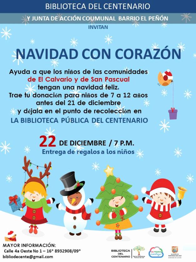 Invitacion Para Fiesta De Navidad Luxury InvitaciÓn CampaÑa Navidad Con CorazÓn