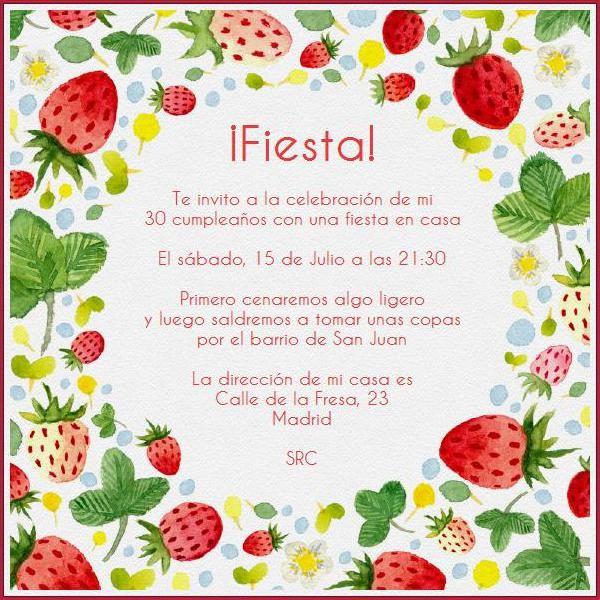 Invitacion Para Fiesta De Navidad New Fresitas