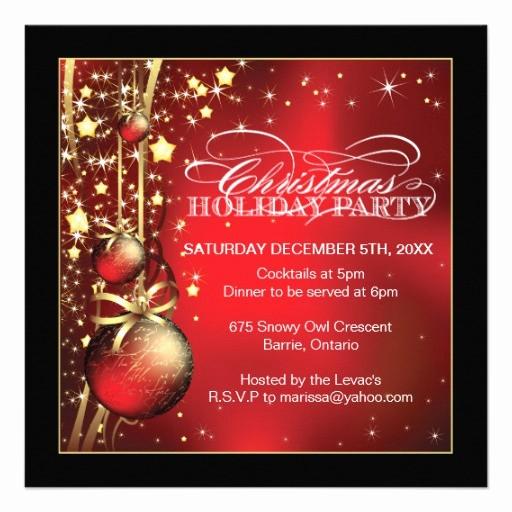 Invitacion Para Fiesta De Navidad New Invitación De La Fiesta De Navidad Invitación 13 3 Cm X 13