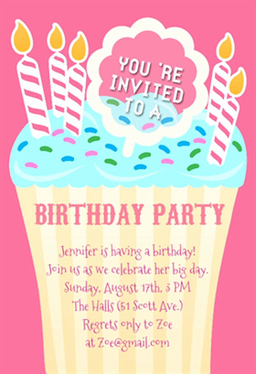Invitation format for Birthday Party Best Of 21 Teen Birthday Invitations Inspire Design Cards