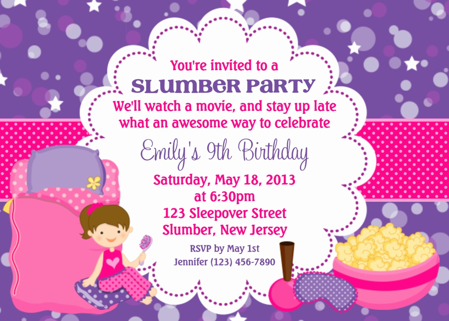 Invitation format for Birthday Party Fresh Invitation Cards