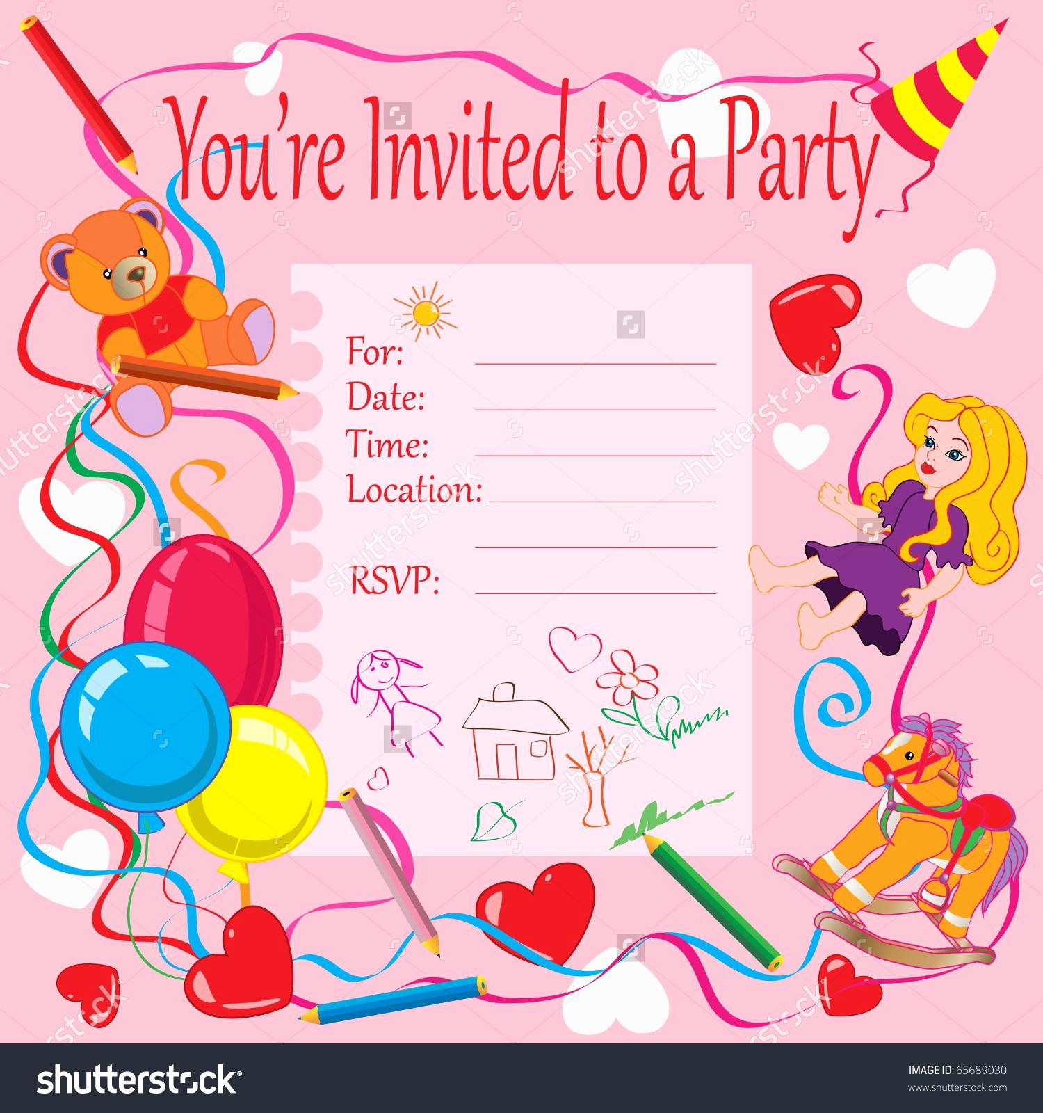 Invitation format for Birthday Party Inspirational 20 Birthday Invitations Cards – Sample Wording Printable