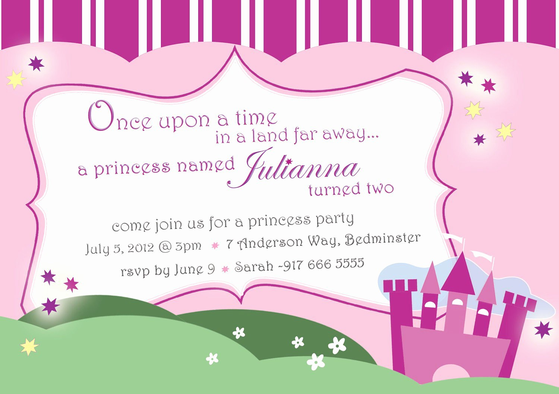Invitation format for Birthday Party Lovely 7th Birthday Invitation
