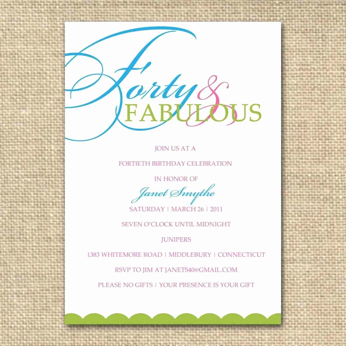 Invitation format for Birthday Party Lovely Birthday Luncheon Invitations Wording Jin's Invitations