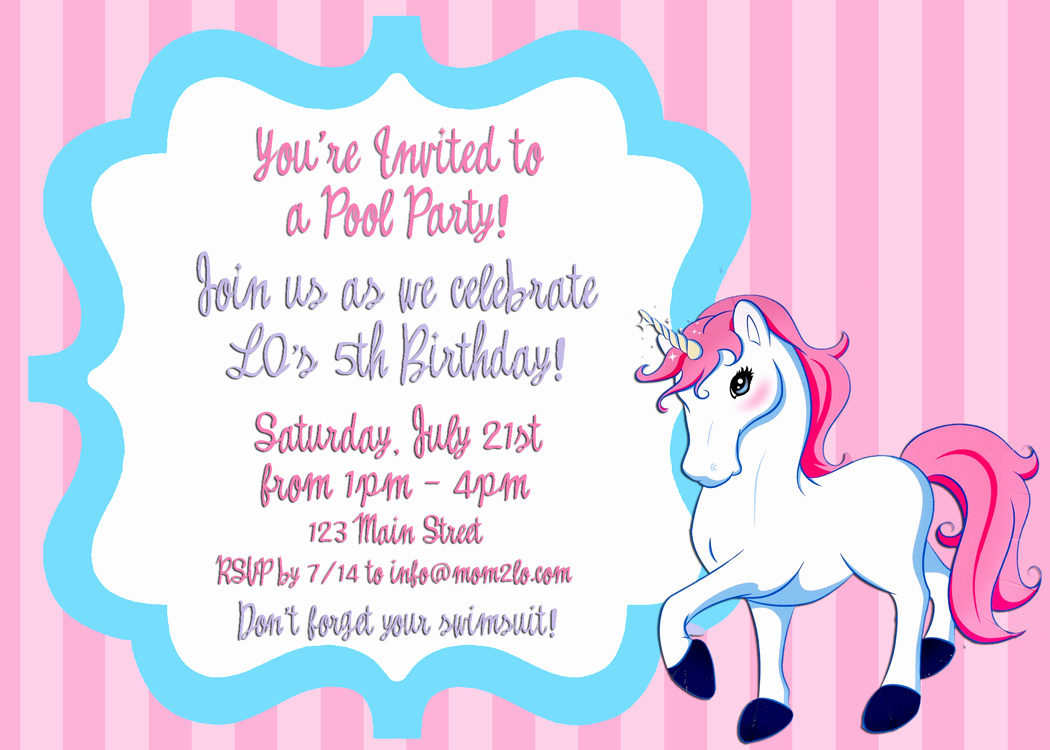 Invitation format for Birthday Party Luxury Birthday Invitation Letter