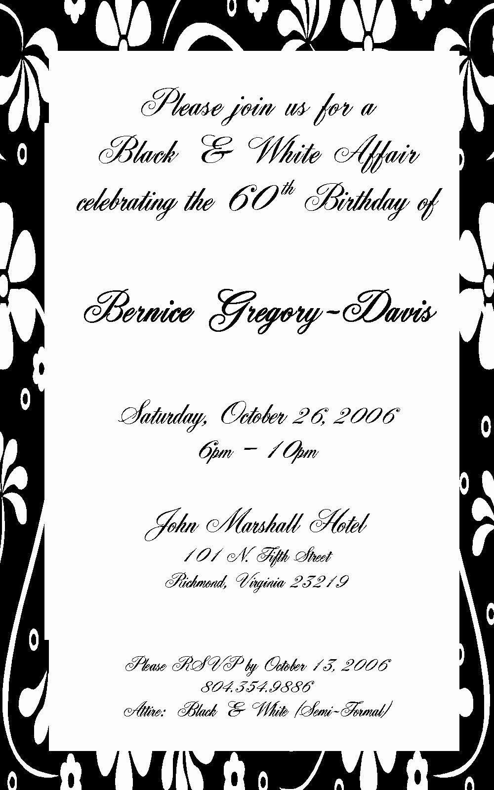 Invitation format for Birthday Party New Birthday Invitation Sample Party Invitation