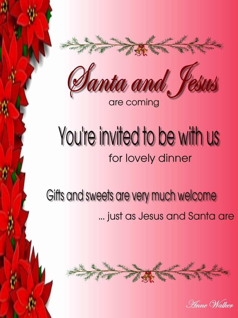 Invitation format for Birthday Party New Sample Christmas Party Invitation Wording