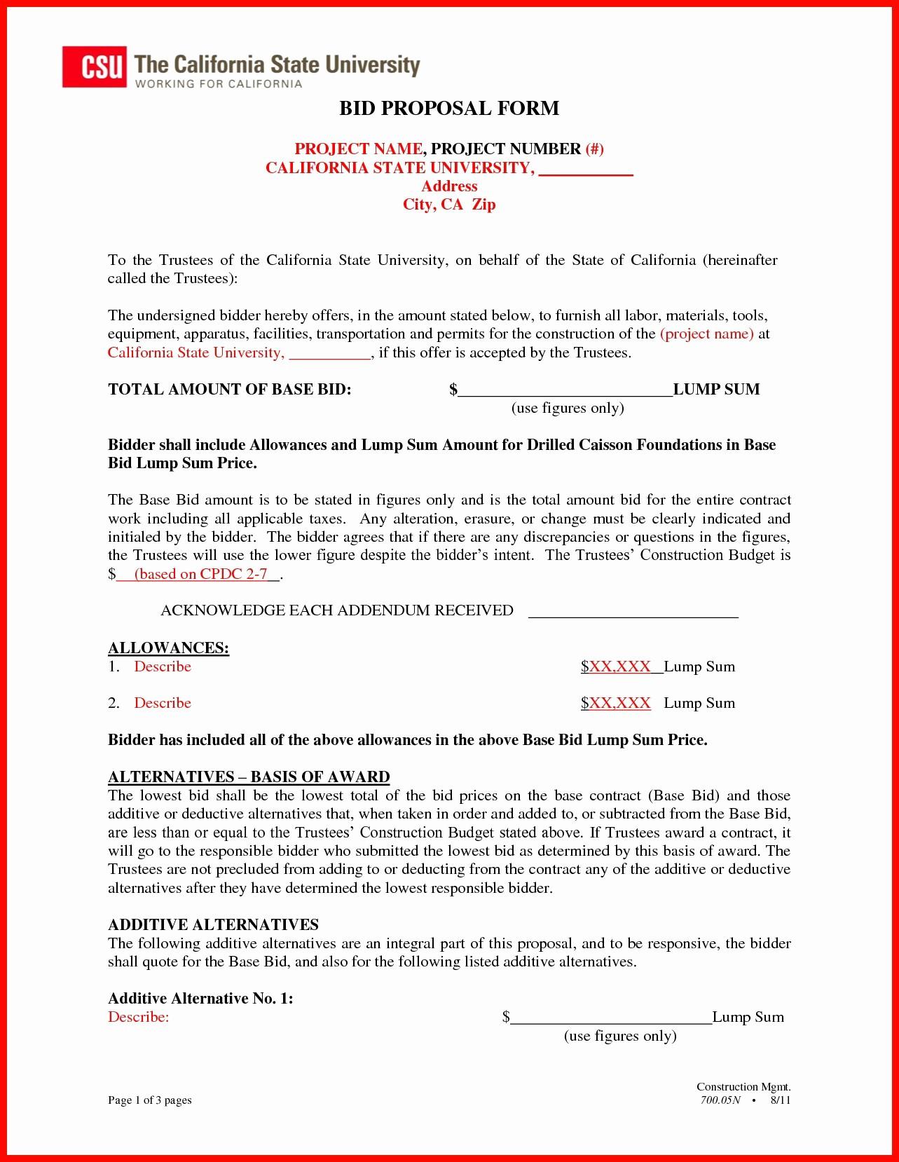 Invitation to Bid Template Construction Luxury Construction Invitation to Bid Template Gallery Template
