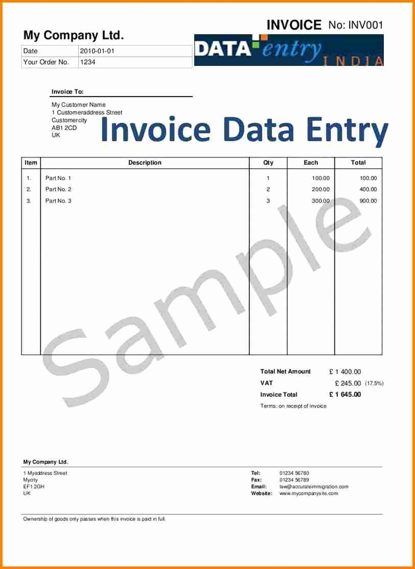 Invoice Bill format In Excel New 5 Service Tax Bill format In Excel