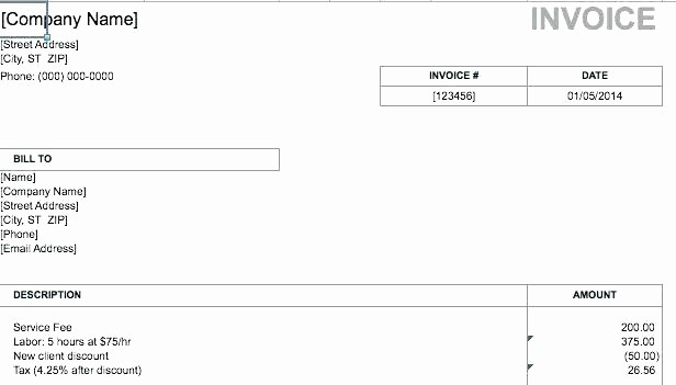 Invoice for Work Done Template Best Of Customizable Invoice Template – Vidasencillaub