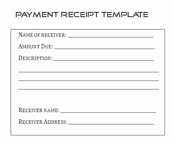 Invoice for Work Done Template Best Of Invoice Template Free Word Excel format Download Receipt