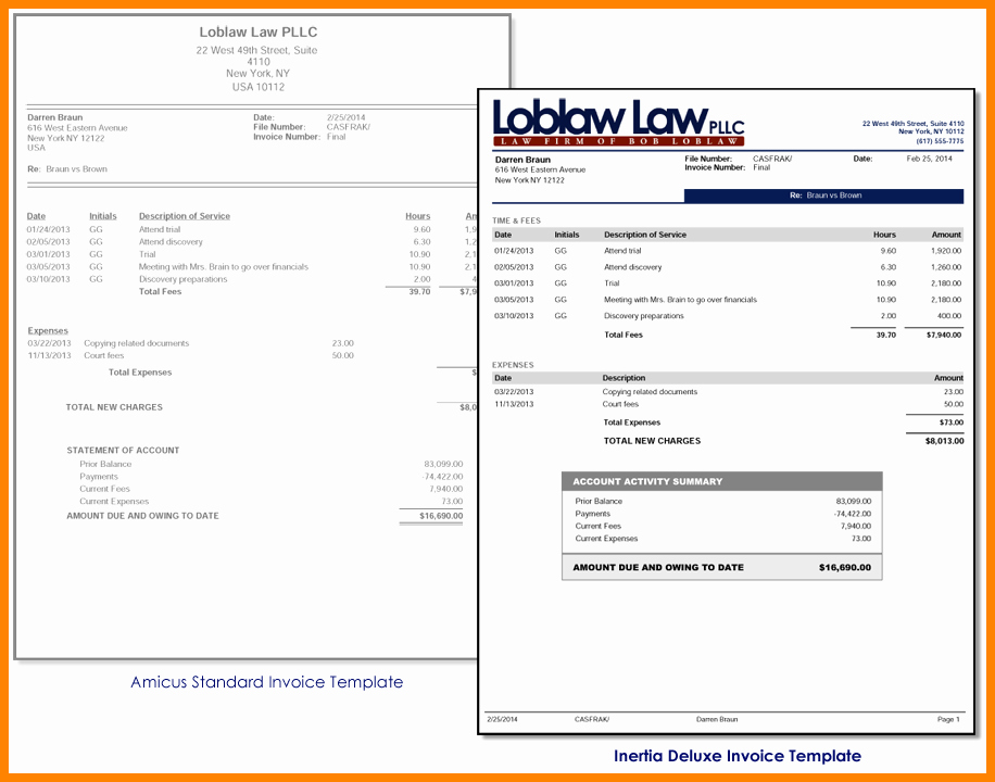Invoice for Work Done Template Elegant 8 Bill for Work Done Template