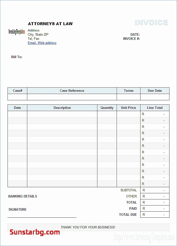 Invoice Template Excel Download Free Awesome Invoice Template Excel Free Download Free Excel Invoice