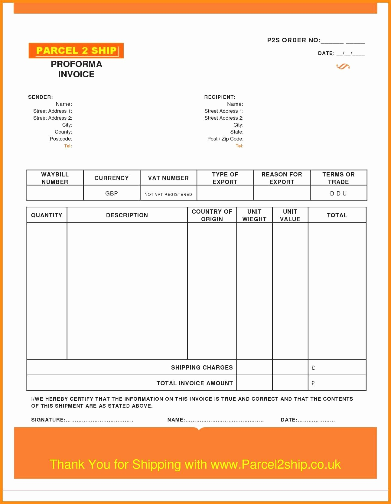 Invoice Template Excel Download Free Beautiful 8 Quickbooks Invoice Templates