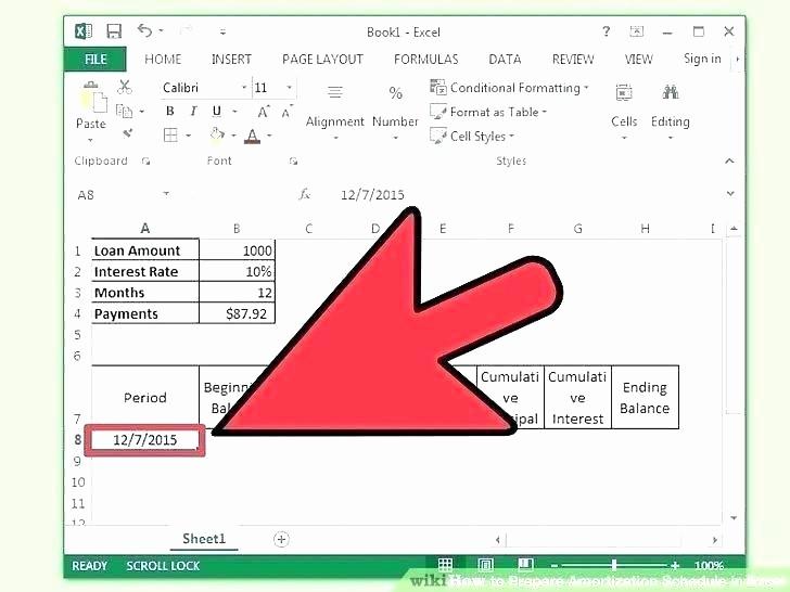 Irregular Loan Payment Calculator Excel Awesome Amortization Schedule Calculator Excel – Studiorc