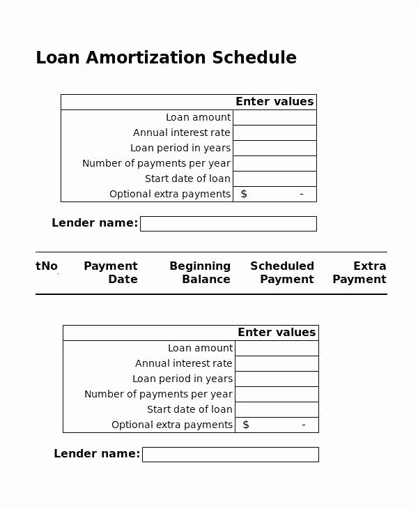 Irregular Loan Payment Calculator Excel Unique Amortization Table Extra Payments Excel